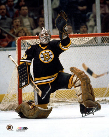 "Gerry Cheevers ""Bruins Classic"" c.1972 Boston Bruins Goalie Premium Poster Print - Photofile Inc."