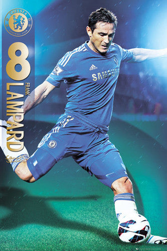 "Frank Lampard ""Signature"" Chelsea FC Action Poster - GB Eye 2012/13"