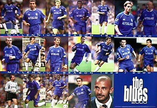 "Chelsea F.C. ""The Blues 2000"" - U.K. 2000"