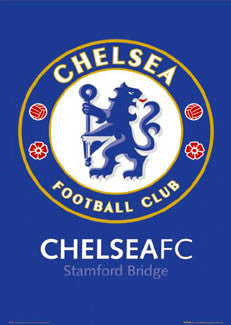 Chelsea FC Official Club Badge Logo Poster (2005) - GB Posters Inc.