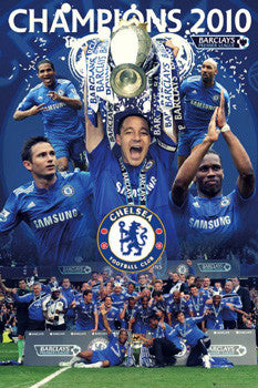 "Chelsea FC ""Champions 2010"" - GB Eye (UK)"