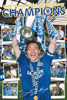 "Chelsea FC Champions 2006 ""Signatures"" - GB Posters"
