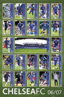 "Chelsea FC ""Super 23"" 2006/07 - GB Posters"