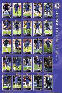 "Chelsea FC ""Super 20"" 2005/06 - GB Posters"