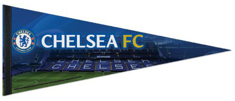 Chelsea FC Soccer Stamford Bridge Game Night Premium Felt Collector's Pennant - Wincraft
