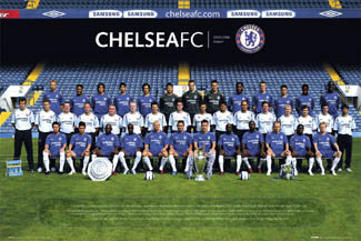 Chelsea FC Official Team Portrait 2005/06 Poster - GB Posters
