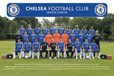 Chelsea FC Official Team Portrait 2008/09 - GB Eye