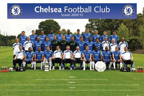 Chelsea FC Official Team Portrait 2009/10 - GB Eye