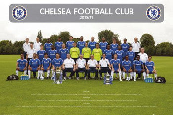 Chelsea FC Official Team Portrait 2010/11 - GB Eye