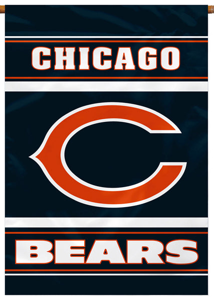 Chicago Bears Official NFL Football Premium Banner Flag - BSI Products
