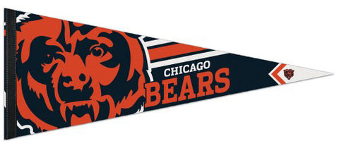 Chicago Bears NFL Football Team Logo-Style Premium Felt Collector's Pennant - Wincraft Inc.