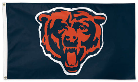 "Chicago Bears ""Roaring Bear""-Style Official NFL Football 3'x5' Deluxe-Edition Flag - Wincraft Inc."