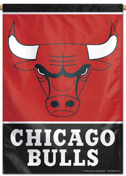 Chicago Bulls Official NBA Basketball Premium 28x40 Team Logo Wall Banner - Wincraft Inc.