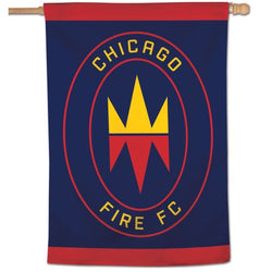 Chicago Fire FC Official MLS Soccer Team Logo Wall BANNER - Wincraft Inc.