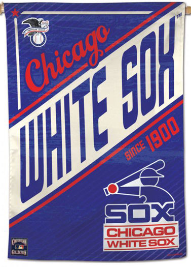"Chicago White Sox ""Since 1900"" MLB Cooperstown Collection Premium 28x40 Wall Banner - Wincraft Inc."