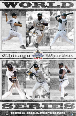 Chicago White Sox 2005 World Series Champions Commemorative Poster - Costacos Sports