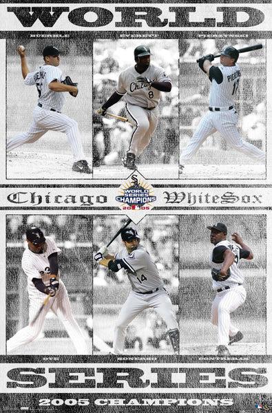 Chicago White Sox 2005 World Series Champions Commemorative Poster - Costacos