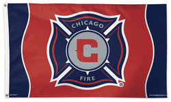 Chicago Fire Official MLS Soccer DELUXE 3' x 5' Flag - Wincraft Inc.