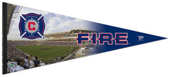Chicago Fire MLS Gameday EXTRA-LARGE Premium Felt Pennant