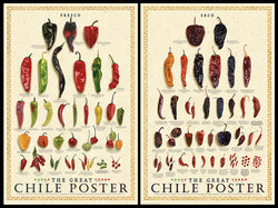 The Great Chile Poster 2-Poster Combo (Fresco & Seco) - American Image
