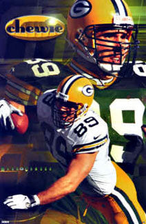 "Mark Chmura ""Chewie"" Green Bay Packers - Costacos 1998"
