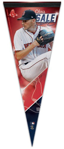 Chris Sale Boston Red Sox Signature Series Premium Felt Collector's PENNANT - Wincraft