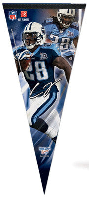 "Chris Johnson ""Big-Time"" EXTRA-LARGE Premium Felt Pennant - Wincraft"