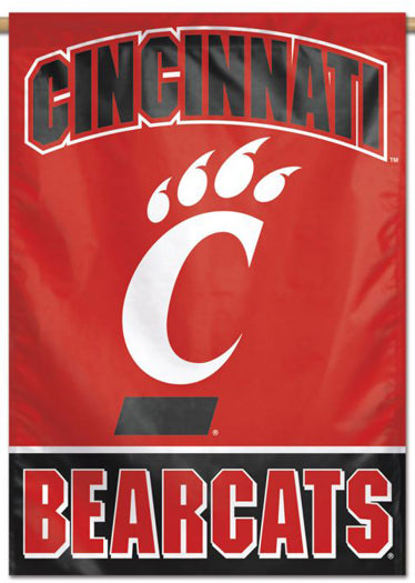 Cincinnati Bearcats Official NCAA Team Logo NCAA Premium 28x40 Wall Banner - Wincraft Inc.