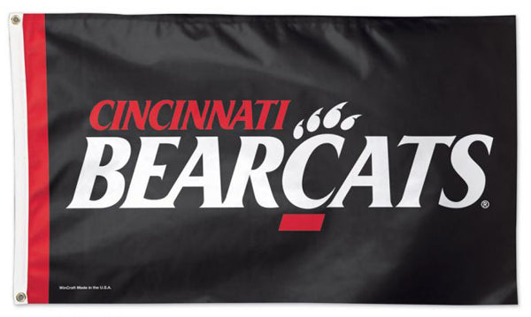 Cincinnati Bearcats Official NCAA Team Logo Deluxe-Edition 3'x5' Flag - Wincraft Inc.