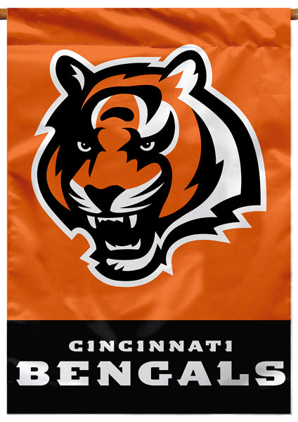 Cincinnati Bengals Official NFL Football Premium Banner Flag - BSI Products