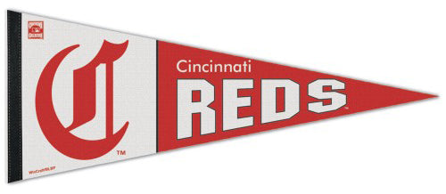 Cincinnati Reds Cooperstown Collection Classic 1900's-Style Premium Felt Pennant - Wincraft Inc.