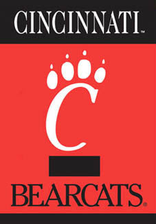 "Cincinnati Bearcats ""C-Claw"" Banner - BSI Products"