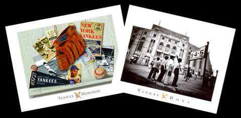 COMBO: Classic New York Yankees 2-Poster Combo - Image Source