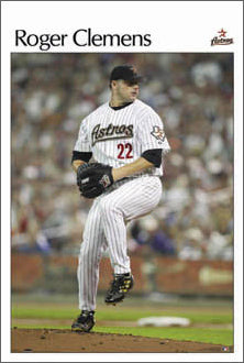 "Roger Clemens ""Houston Pinstripes"" - Costacos 2004"