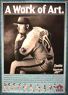 "Roger Clemens ""Work of Art"" - Toronto Blue Jays 1997"