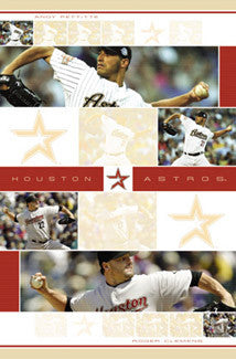 "Houston Astros ""Aces"" (Pettitte & Clemens) - Costacos 2004"