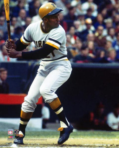 "Roberto Clemente ""Seventy-One"" Pittsburgh Pirates Premium Poster Print - Photofile Inc."