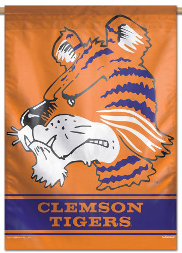 "Clemson Tigers ""The Tiger Classic"" NCAA Team Logo Official NCAA Premium 28x40 Wall Banner - Wincraft Inc."