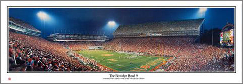 "Clemson Tigers Football ""The Bowden Bowl 9"" (2007) Panoramic Poster Print - Everlasting Images"