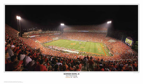 "Clemson Tigers ""Bowden Bowl IX"" - Sports Photos Inc. 2007"