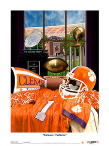 "Clemson Tigers Football ""Traditions"" - USA Sports Inc."