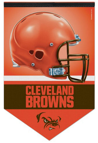 Cleveland Browns NFL Football Team Premium Felt Wall Banner - Wincraft Inc.