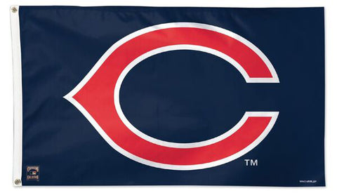 Cleveland Indians Retro-C 1958-72 Style Cooperstown Collection MLB Baseball Deluxe-Edition 3'x5' Flag
