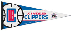 Los Angeles Clippers Official NBA Basketball Team Premium Felt Pennant - Wincraft Inc.