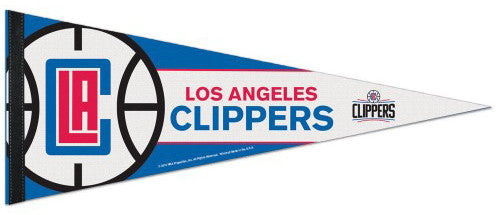 Los Angeles Clippers Official NBA Basketball Team Premium Felt Pennant - Wincraft 2015