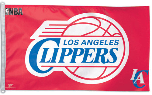 L.A. Clippers Official NBA Basketball 3'x5' Flag - Wincraft Inc.