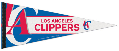 Los Angeles Clippers Official NBA Basketball Premium Felt Pennant - Wincraft Inc.
