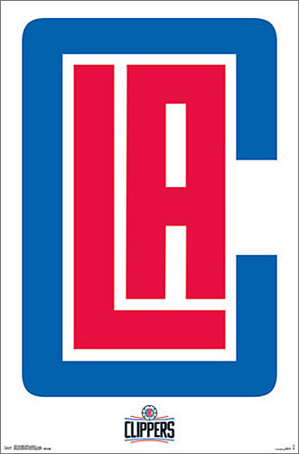 Los Angeles Clippers Basketball Official NBA Team Logo Poster - Trends International 2015