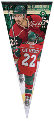 "Cal Clutterbuck ""Big-Time"" EXTRA-LARGE Premium Felt Pennant - Wincraft"