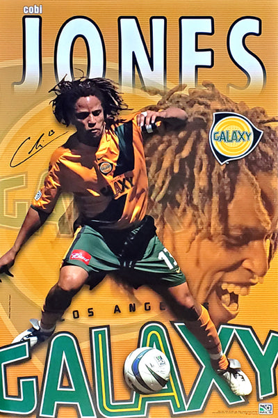 "Cobi Jones ""Passion"" Los Angeles Galaxy MLS Soccer Action Wall Poster - S.E. 2004"